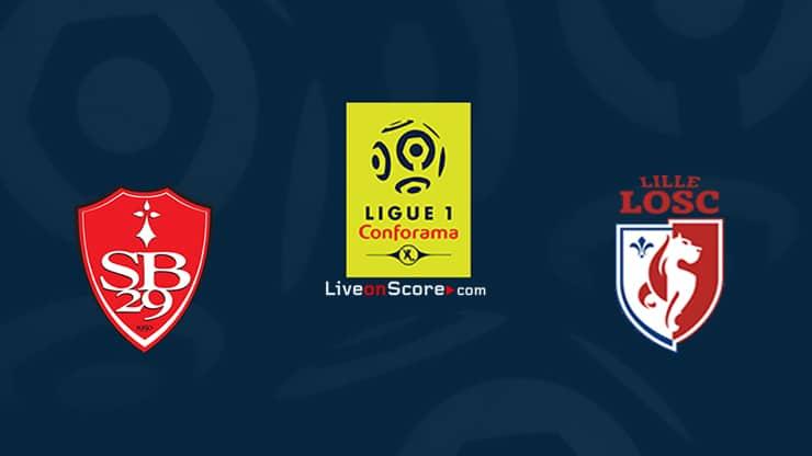Brest vs Lille Prediccion y Pronostico Transmision en vivo Ligue 1 2020