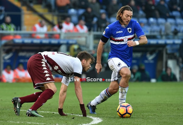 Sampdoria midfielder Edgar Barreto has tested positive for the Coronavirus