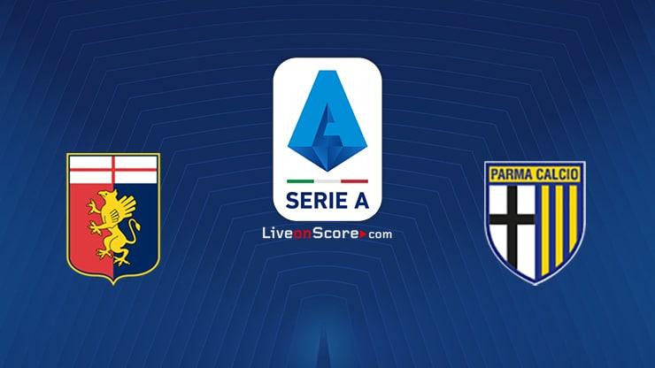 Genoa vs Parma Preview and Prediction Live stream Serie Tim A 2020