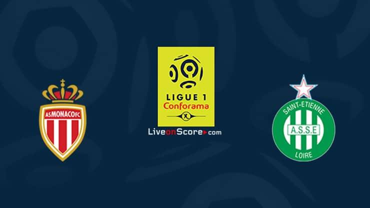 Monaco vs St Etienne Preview and Prediction Live stream Ligue 1 2020