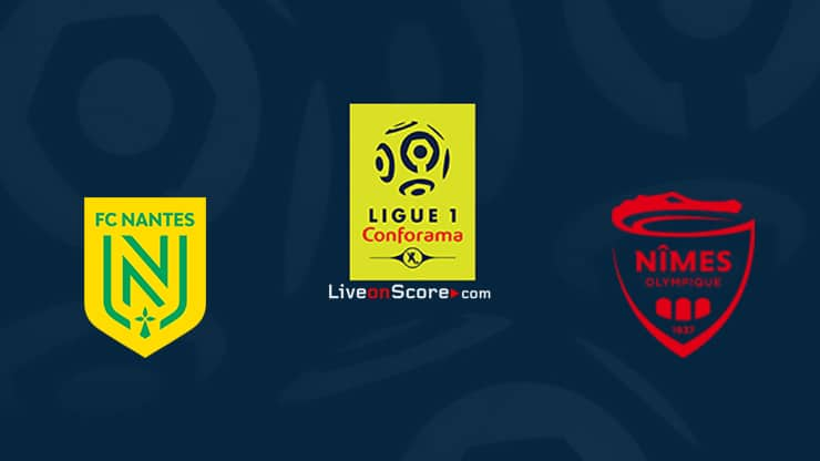 Nantes vs Nimes Preview and Prediction Live stream Ligue 1 2020