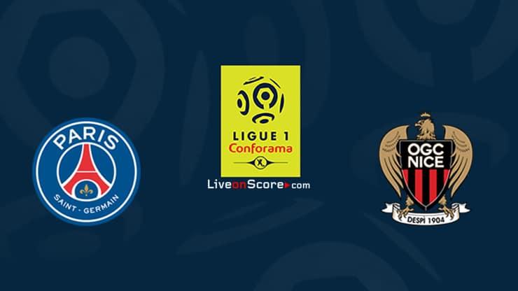 Paris SG vs Nice Preview and Prediction Live stream Ligue 1 2020