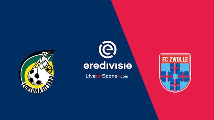 Transmision en vivo y predicción de Sittard vs Zwolle - Eredivisie 2020