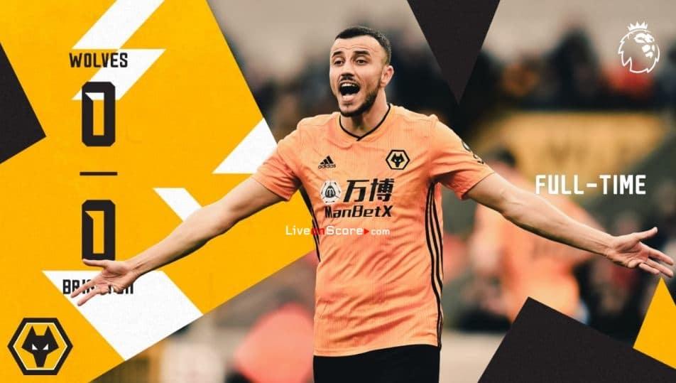 Lobos 0-0 Brighton Goles y resultado - Premier League