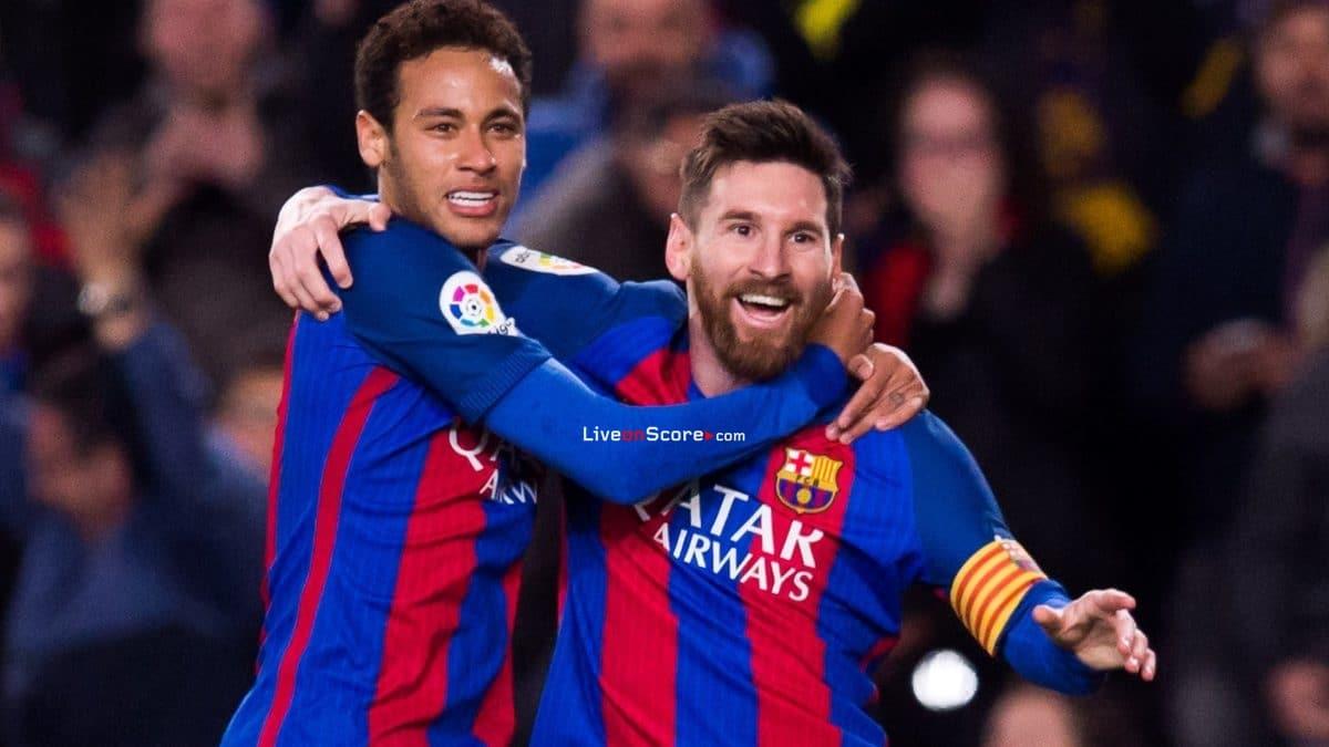 Neymar is Messi's successor at Barcelona