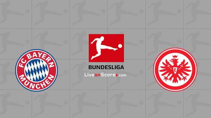 Bayern Munich vs Eintracht Frankfurt Preview and Prediction Live stream Bundesliga 2020