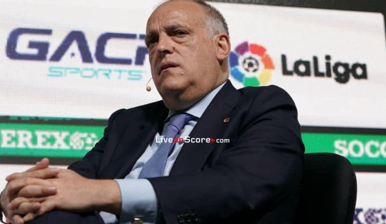 Tebas: The Bundesliga are an example to follow, I'm very happy for them