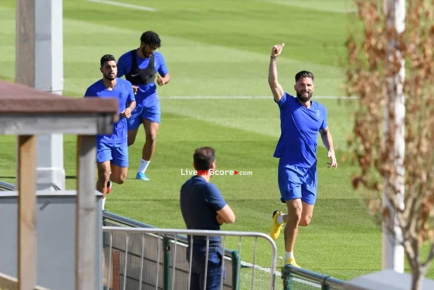 Chelsea returned to small group training this week