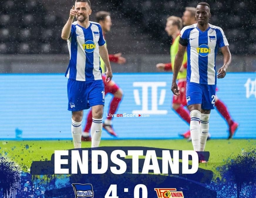 Hertha Berlin 4-0 Union Berlin Full Highlight Video – Bundesliga