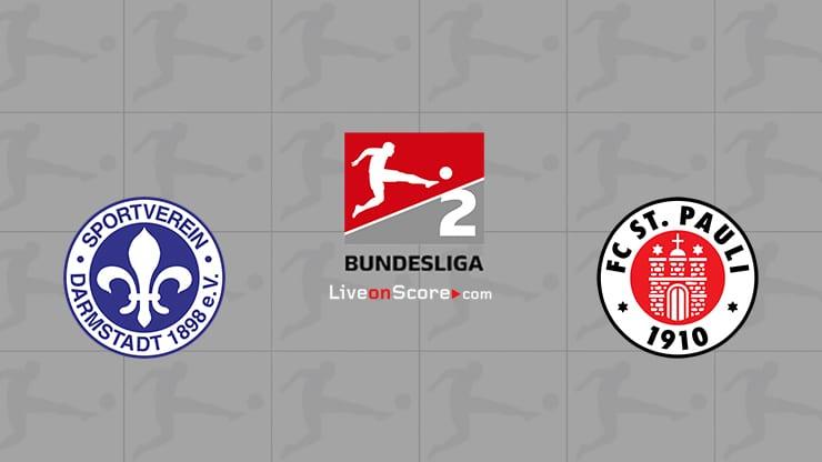Darmstadt vs St. Pauli Preview and Prediction Live stream Bundesliga 2  2020