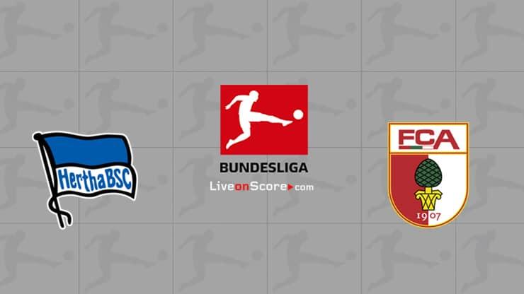 Hertha Berlin vs Augsburg Preview and Prediction Live stream Bundesliga 2020