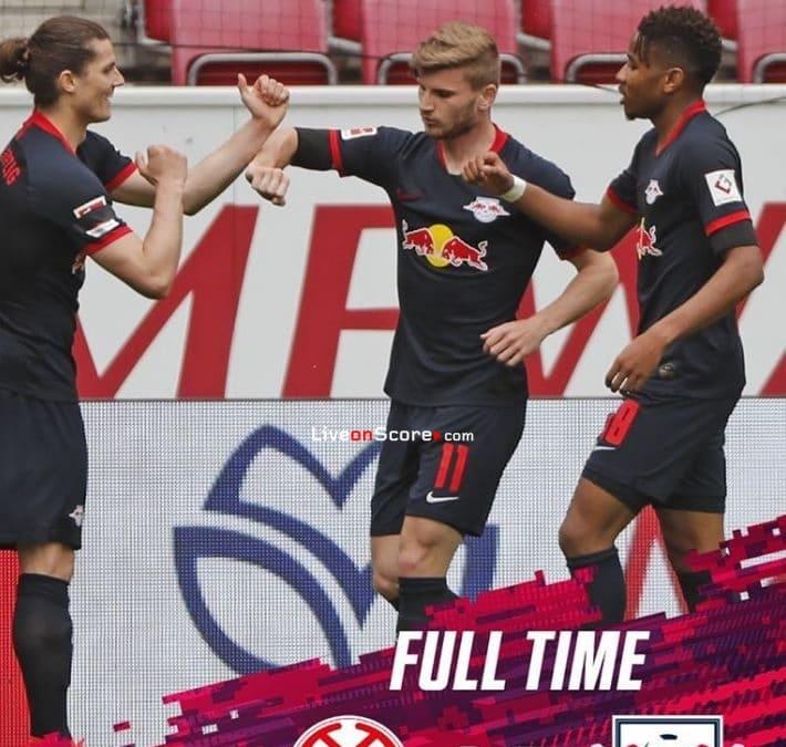 Mainz 0 5 Rb Leipzig Full Highlight Video Bundesliga