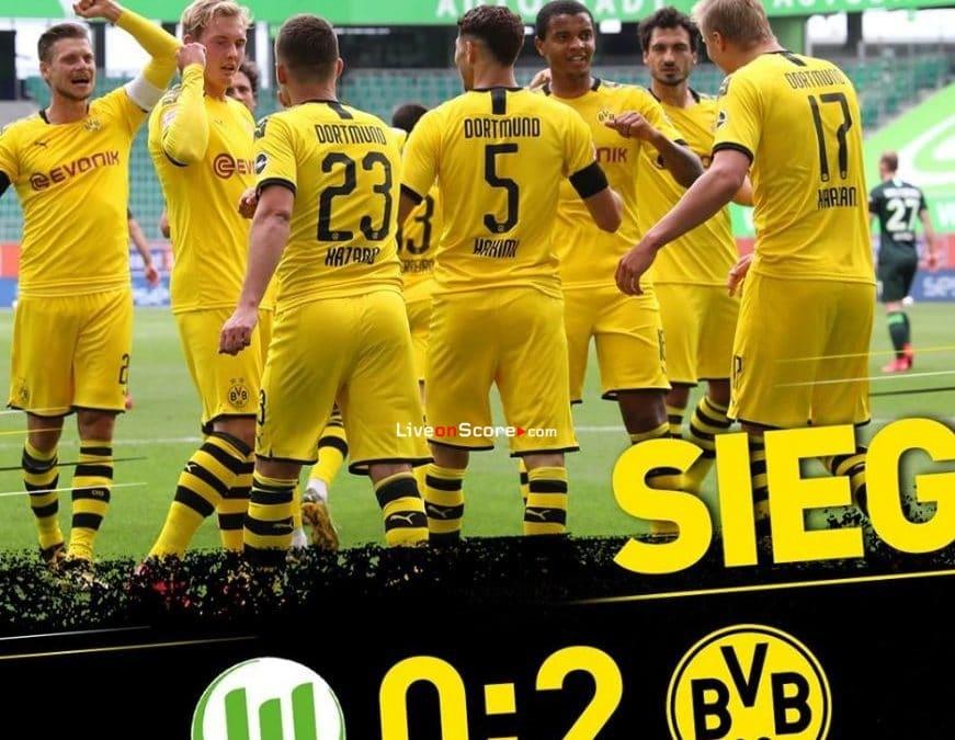 Wolfsburg 0-2 Dortmund Full Highlight Video – Bundesliga