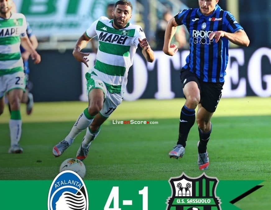 Atalanta 4-1 Sassuolo Full Highlight Video – Serie Tim A