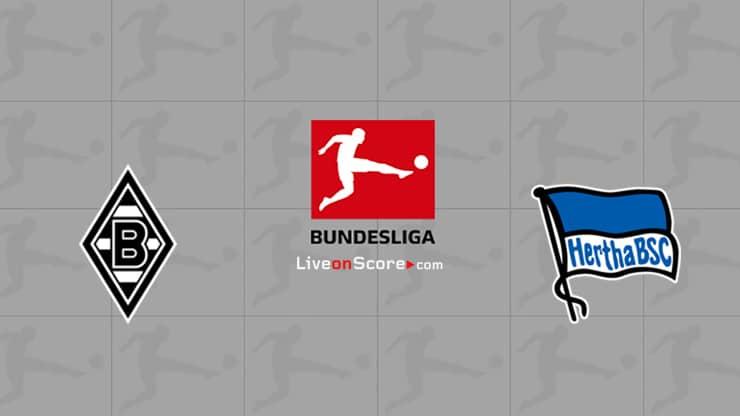 B. Monchengladbach vs Hertha Berlin Preview and Prediction Live stream Bundesliga 2020