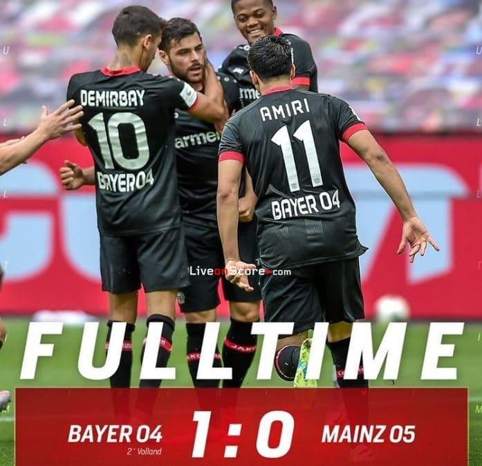 Bayer Leverkusen 1-0 Mainz Full Highlight Video – Bundesliga