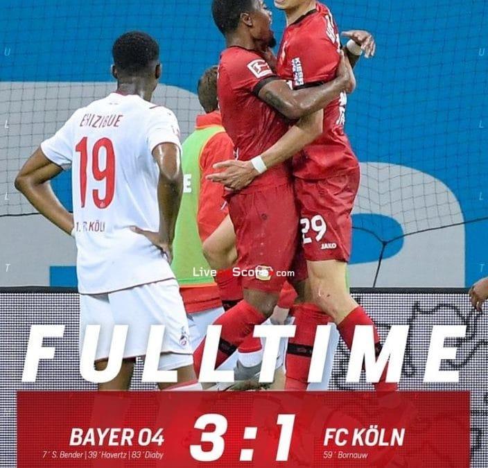 Bayer Leverkusen 3-1 FC Koln Full Highlight Video – Bundesliga