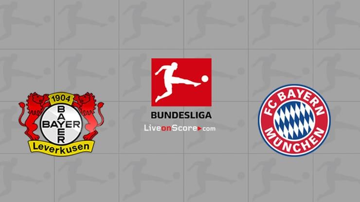 Bayer Leverkusen vs Bayern Munich Previa, Predicciones y Pronostico Transmision en vivo Bundesliga 2020