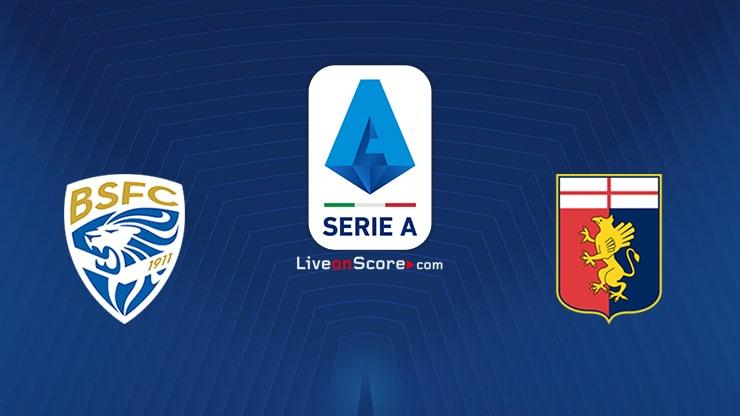 Brescia vs Genoa Preview and Prediction Live stream Serie Tim A 2020