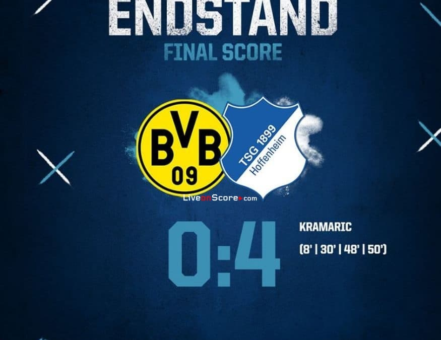 Dortmund 0-4 Hoffenheim Full Highlight Video – Bundesliga