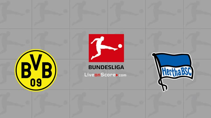 Dortmund vs Hertha Berlin Preview and Prediction Live stream Bundesliga 2020