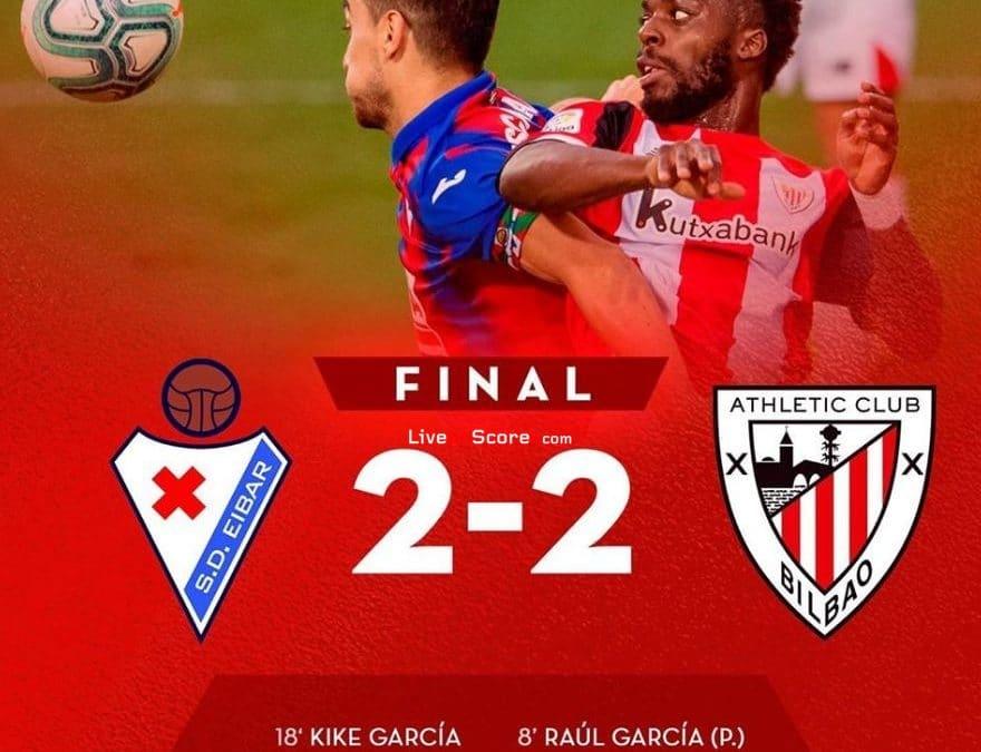 Eibar 2-2 Ath Bilbao Full Highlight Video – LaLiga Santander