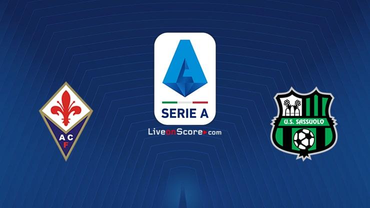 Fiorentina vs Sassuolo Preview and Prediction Live stream Serie Tim A 2020