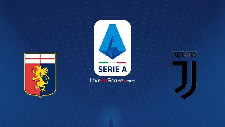 Genoa vs Juventus Preview and Prediction Live stream Serie Tim A 2020