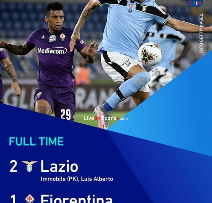Lazio 2-1 Fiorentina Full Highlight Video – Serie Tim A