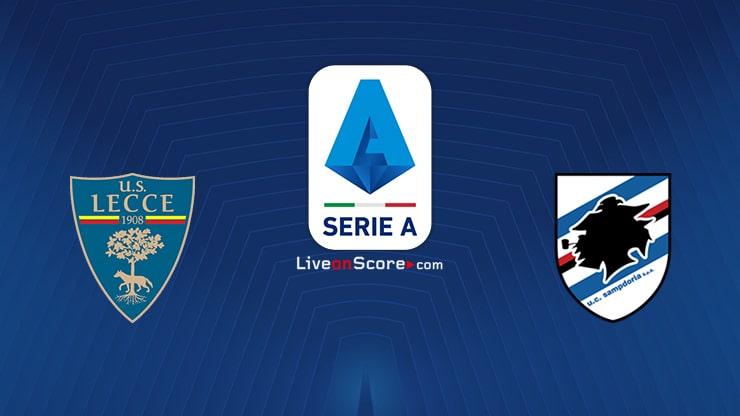 Lecce vs Sampdoria Preview and Prediction Live stream Serie Tim A 2020