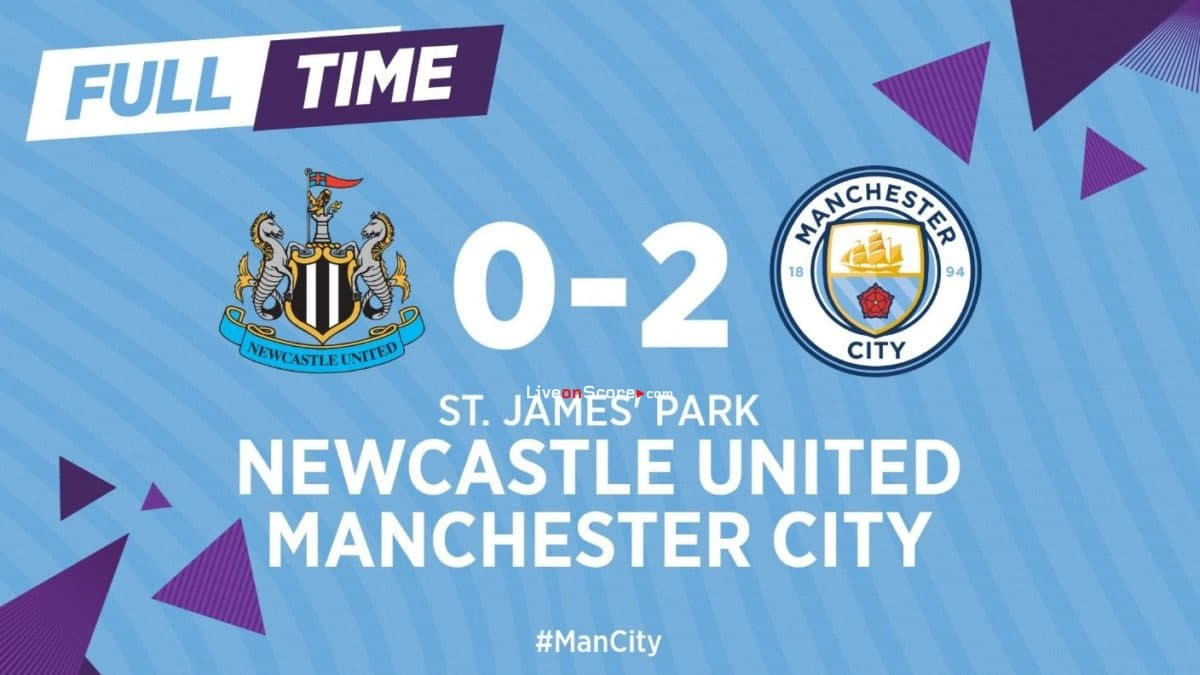 Newcastle 0-2 Manchester City Full Highlight Video – FA Cup