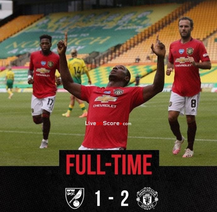 Norwich 1-2 Manchester Utd City Full Highlight Video – FA Cup