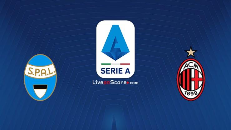 Spal vs AC Milan Preview and Prediction Live stream Serie Tim A 2020