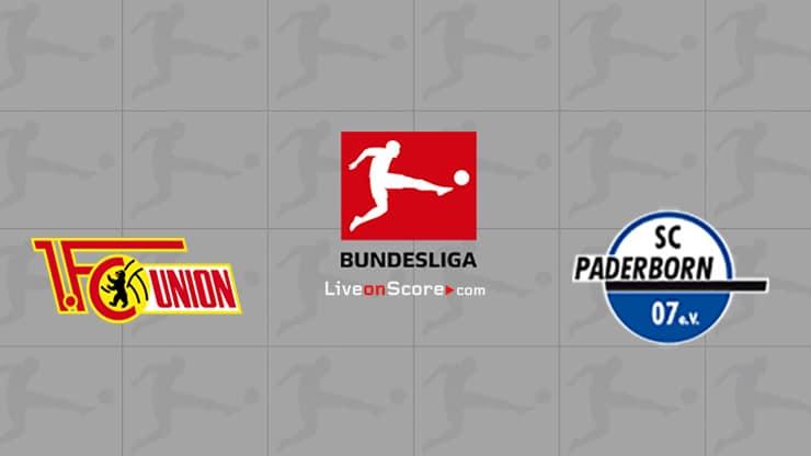 Union Berlin vs Paderborn Prediccion y Pronostico Transmision en vivo Bundesliga 2020