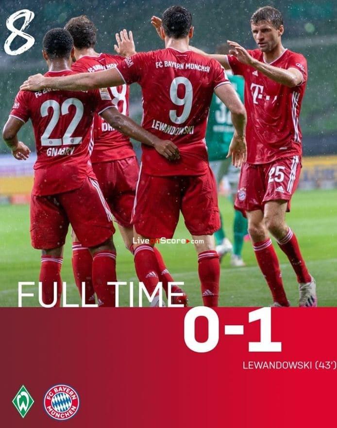 Bayern München Werder Bremen 2021