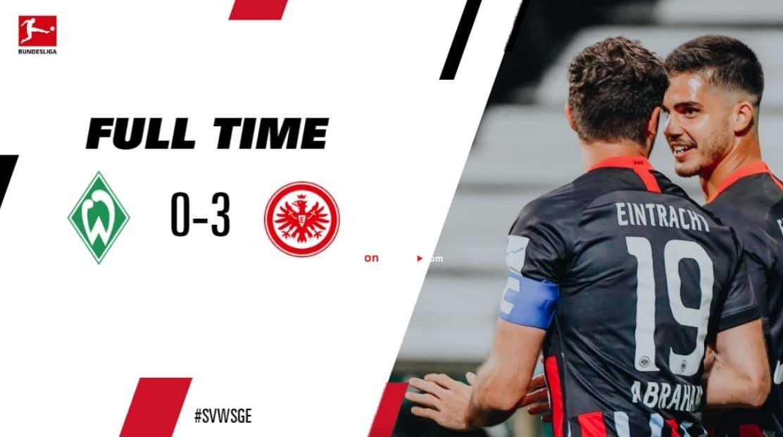 Werder Bremen 0-3 Eintracht Frankfurt Full Highlight Video – Bundesliga