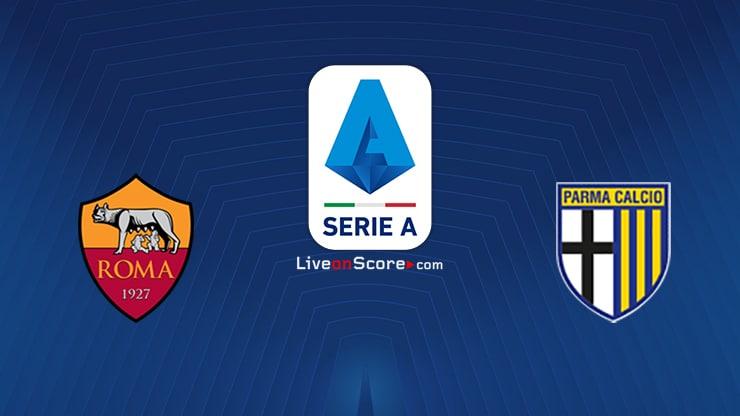 AS Roma vs Parma Preview and Prediction Live stream Serie Tim A 2020/2021