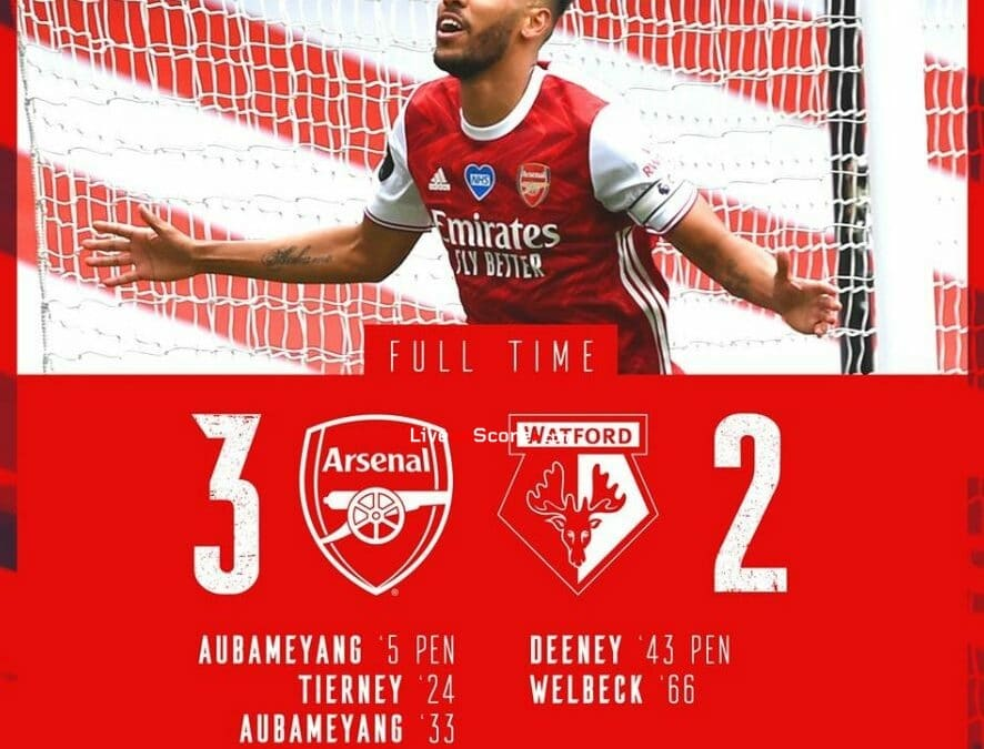 Arsenal 3-2 Watford Full Highlight Video – Premier League
