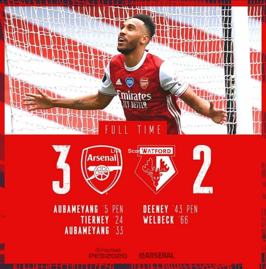 Arsenal 3-2 Watford