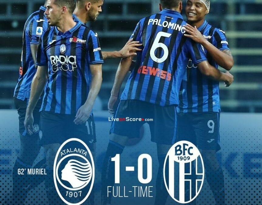 Atalanta 1-0 Bologna