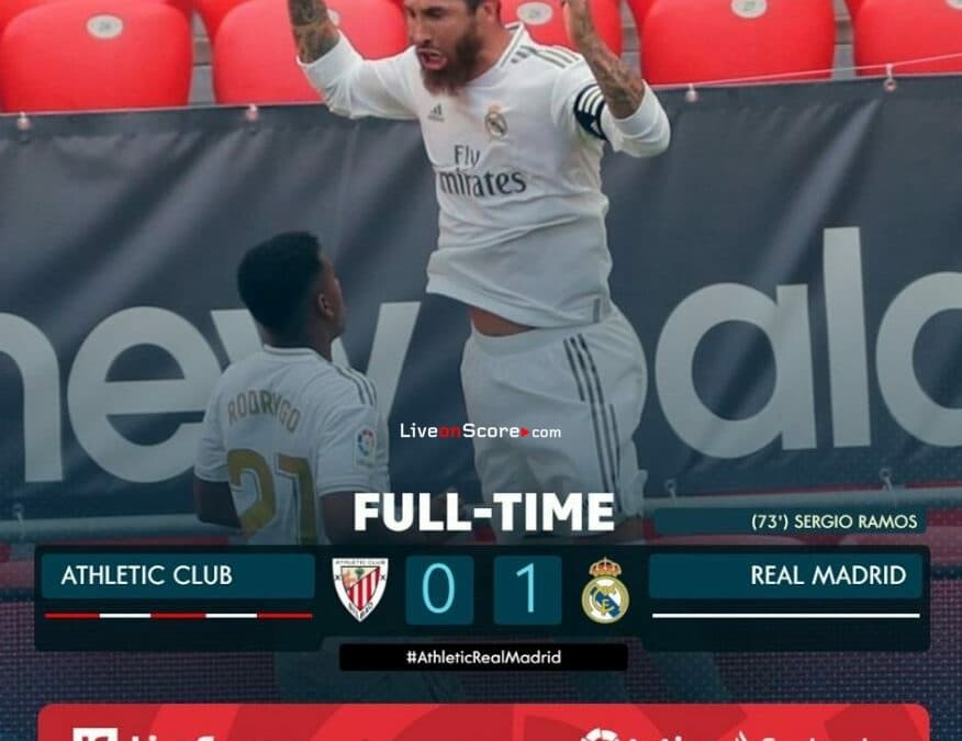 Ath Bilbao 0-1 Real Madrid Full Highlight Video – LaLiga Santander