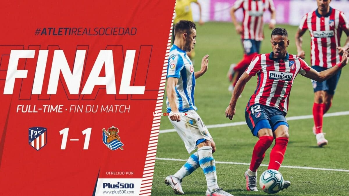 Atl. Madrid 1-1 Real Sociedad Full Highlight Video – LaLiga Santander