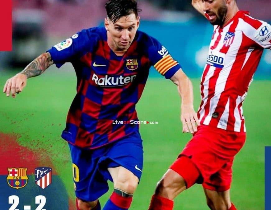 Barcelona 2-2 Atl. Madrid Full Highlight Video – LaLiga Santander