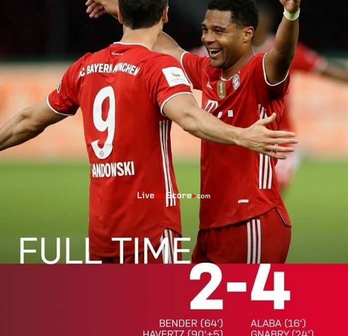 Bayer Leverkusen 1-4 Bayern Munich Full Highlight Video – DFB Pokal