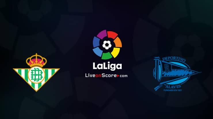 Betis vs Alaves Preview and Prediction Live stream LaLiga Santander 2020