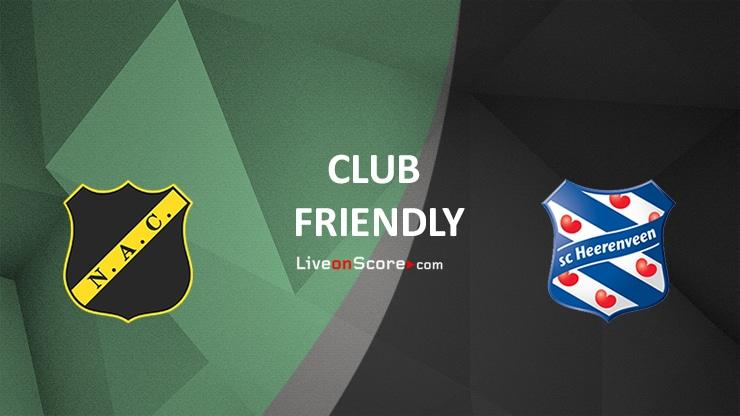 Breda vs Heerenveen Preview and Prediction Live stream – Club Friendly 2020