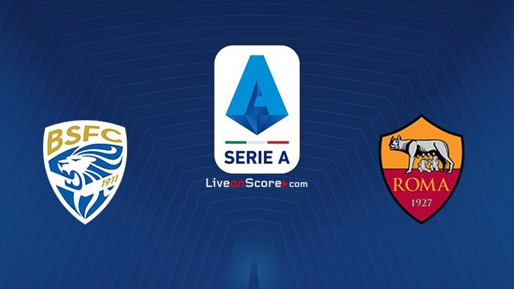 Brescia vs AS Roma Preview and Prediction Live stream Serie Tim A 2020