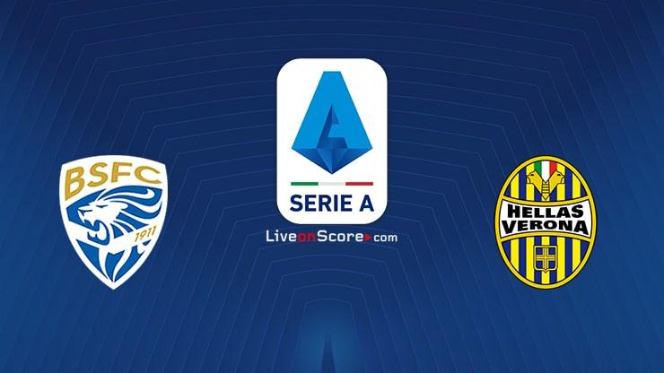 Brescia vs Verona Preview and Prediction Live stream Serie Tim A 2020