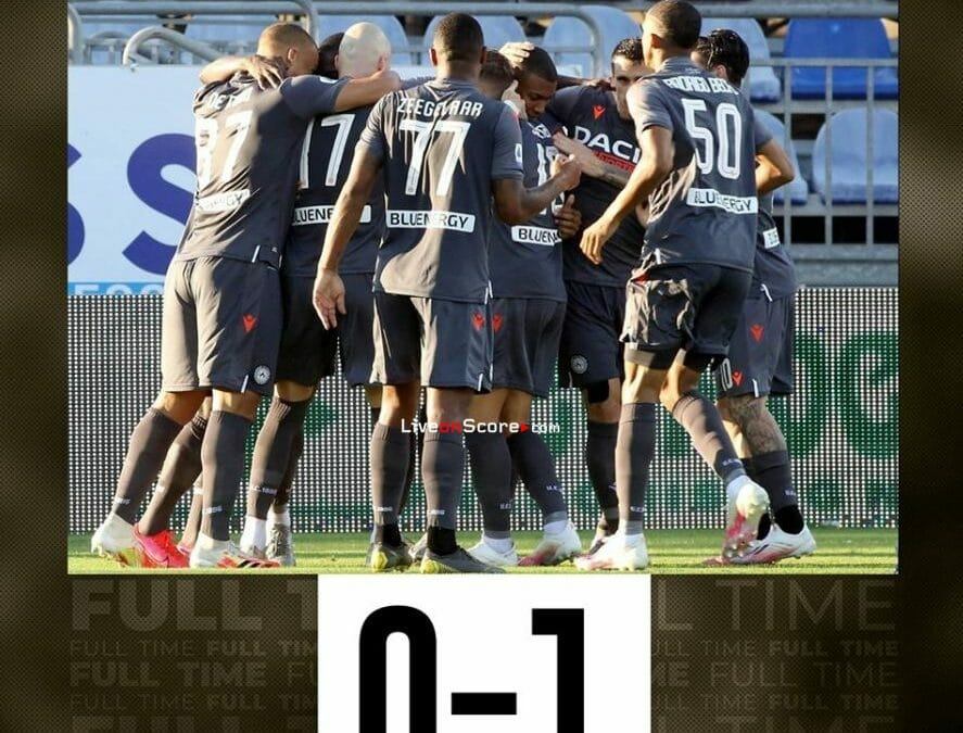 Cagliari 0-1 Udinese Full Highlight Video – Serie Tim A