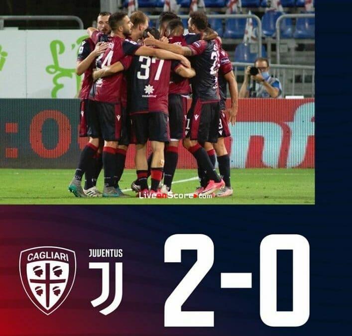 Cagliari 2-0 Juventus Full Highlight Video – Serie Tim A